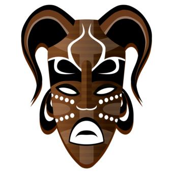 african mask designs clipart best