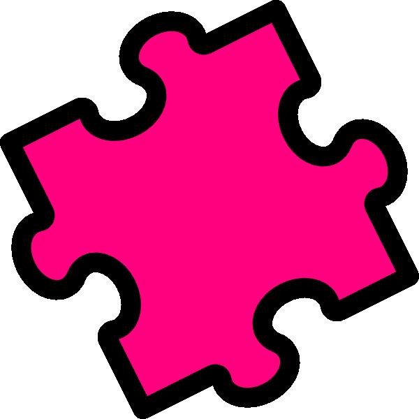 Puzzle Pieces Background Free Vector Pink Puzzle Piece Vector