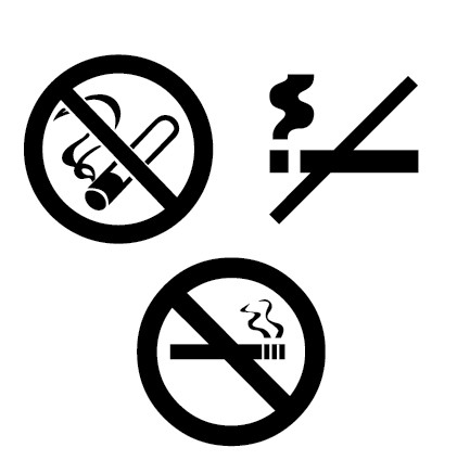 Logo No Smoking Sign