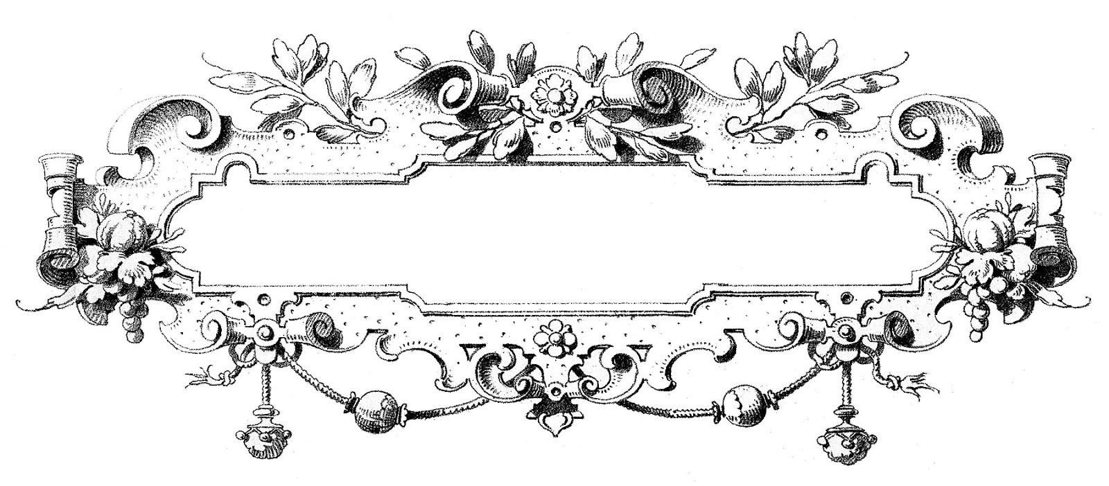 Frame Design Line Art : Photo frames design clipart best
