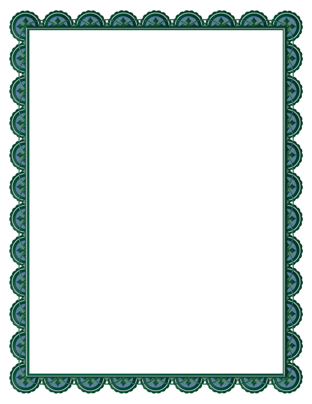 Good Designs Of Borders For Project Clipart Best