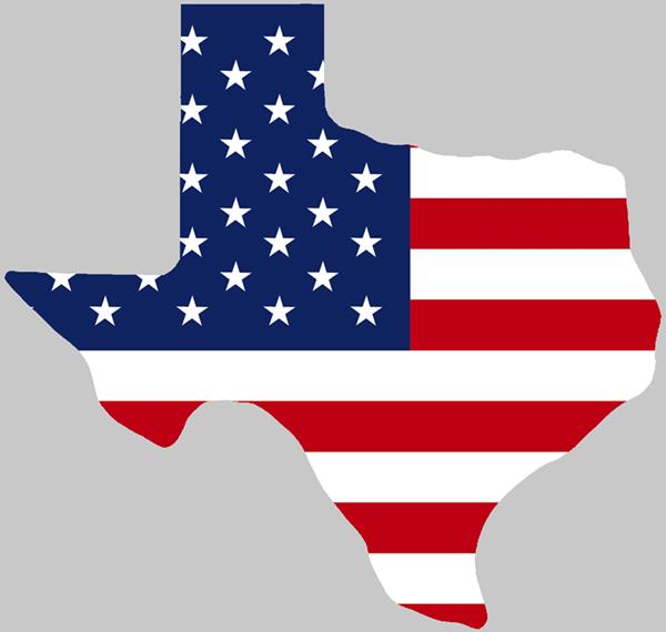 American Flag vs Texas Flag Texas Shaped Usa Flag