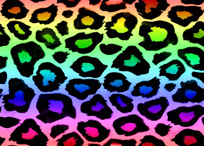 Colorful Cheetah Print Wallpaper - ClipArt Best