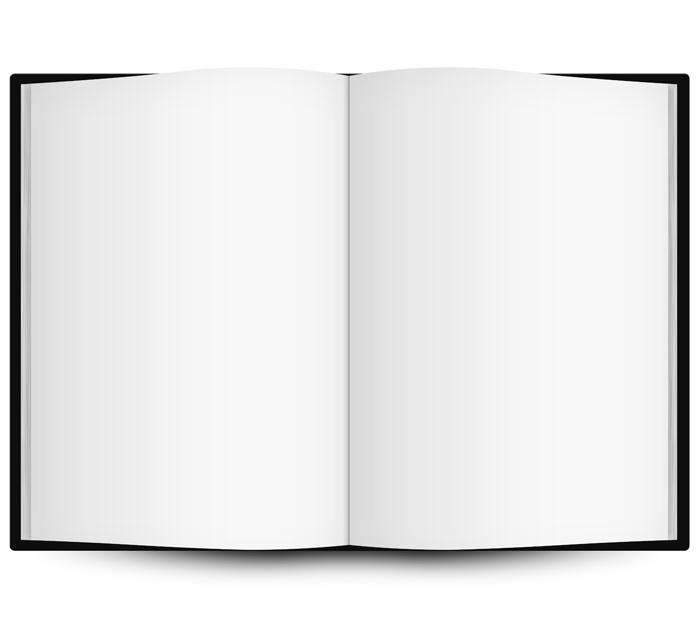Open Book Template - ClipArt Best