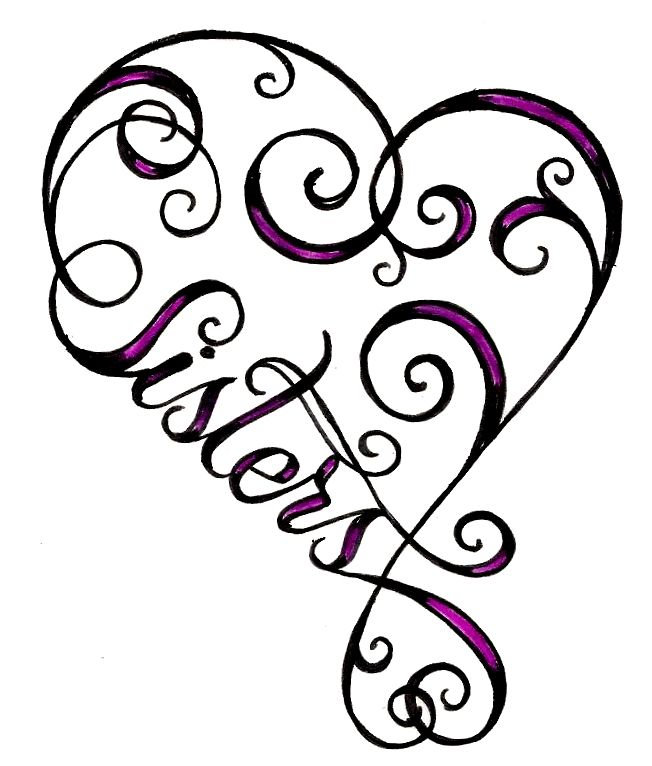 Top Sisters Infinity Symbol Clip Art Images For Pinterest