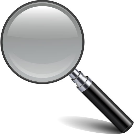 Find, Glass, Magnifying, Search icon