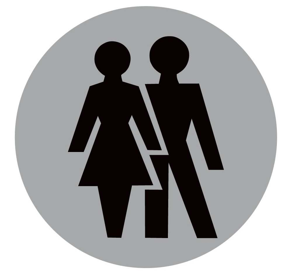 Girls bathroom sign outline -  Male Female Bathroom Sign Images Best Bathroom 2017