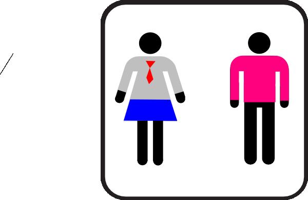 Bathroom Male Female Symbols