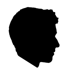 side profile silhouette clipart best