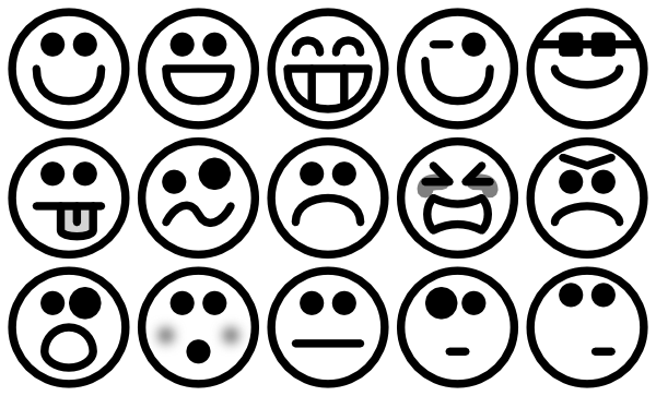 Emotion Faces Clip Art Free - ClipArt Best