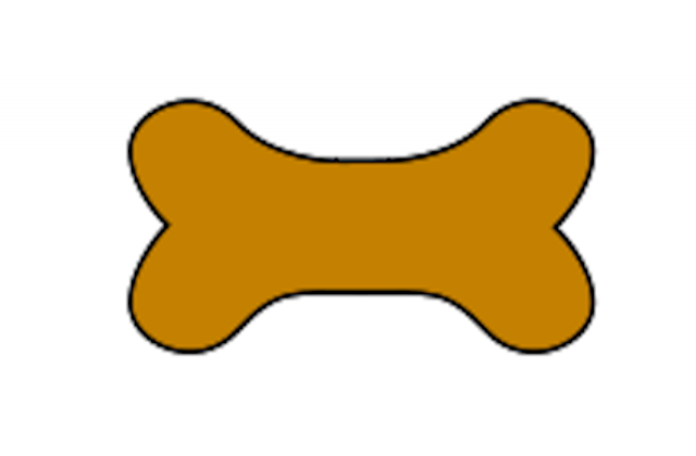 Free Large Dog Bone Clipart Templates - ClipArt Best