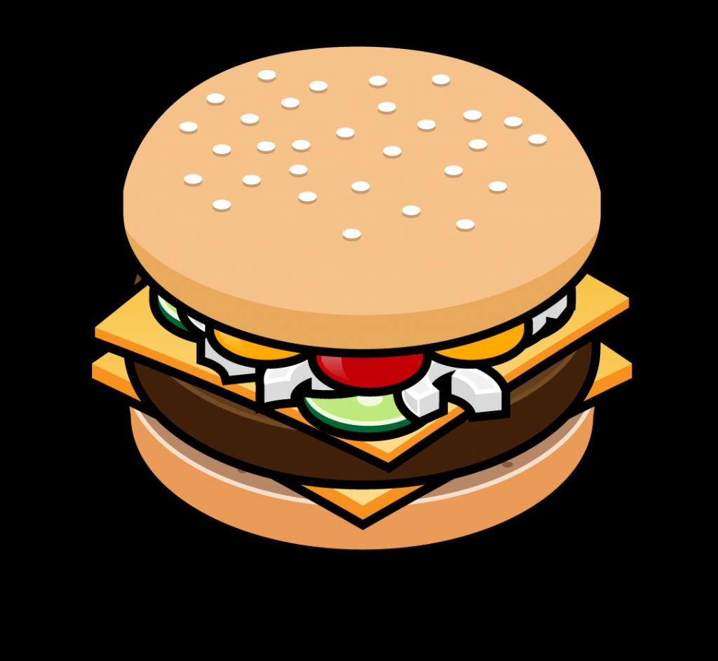 burger vector clipart best
