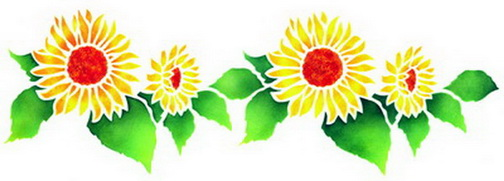 clip art borders sunflowers - photo #41