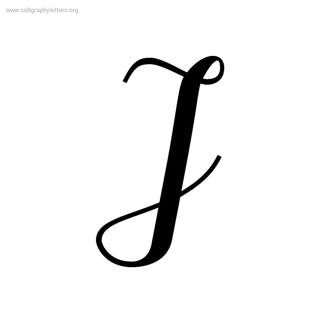 Fancy Letter I - ClipArt Best