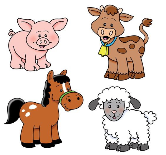 Cartoon Farm Animals Clipart - ClipArt Best