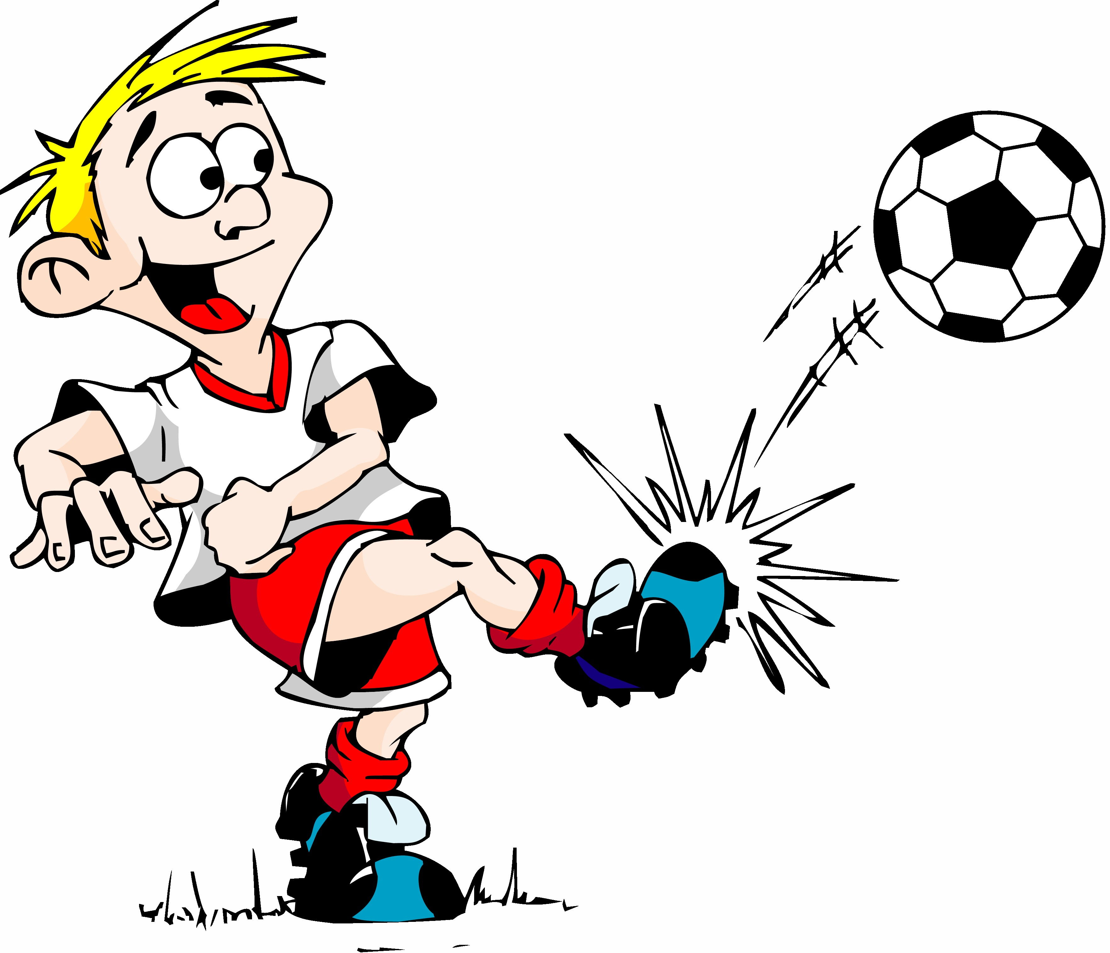 Funny Cartoon Soccer Pictures - ClipArt Best