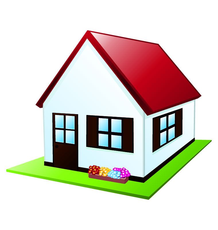Homes Cartoon Clipart