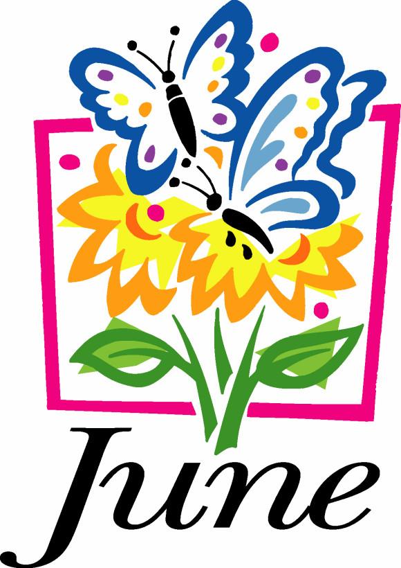 June Calendar Clip Art : June clip art clipart best