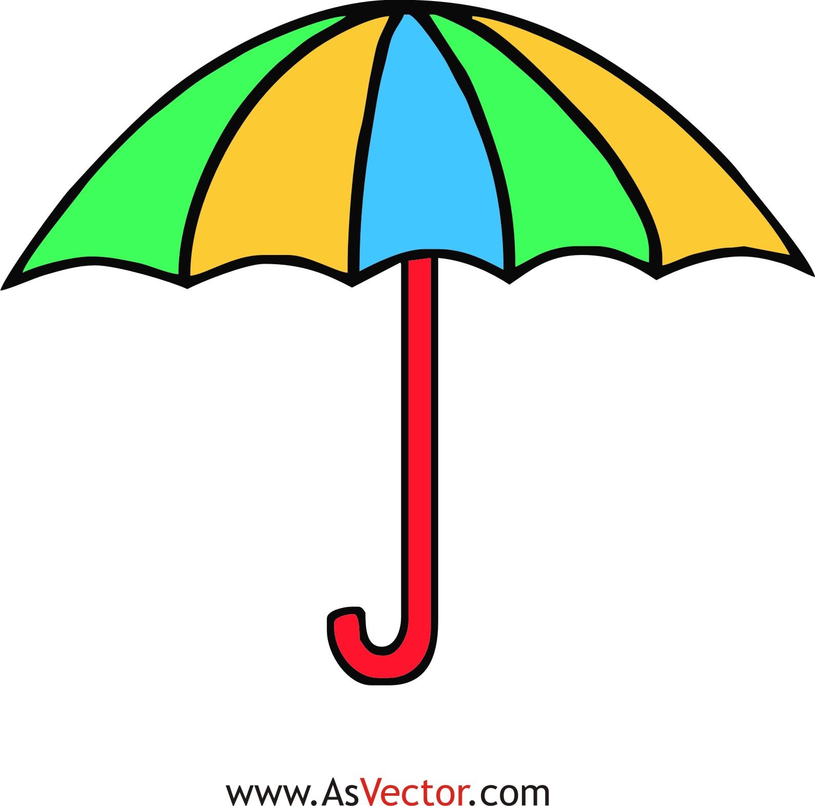 Beach Umbrella Clipart - ClipArt Best