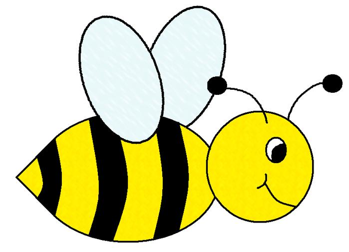 flying bee clip art free clipart best