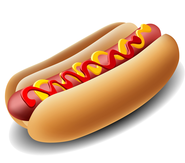 Hot Dog Clipart