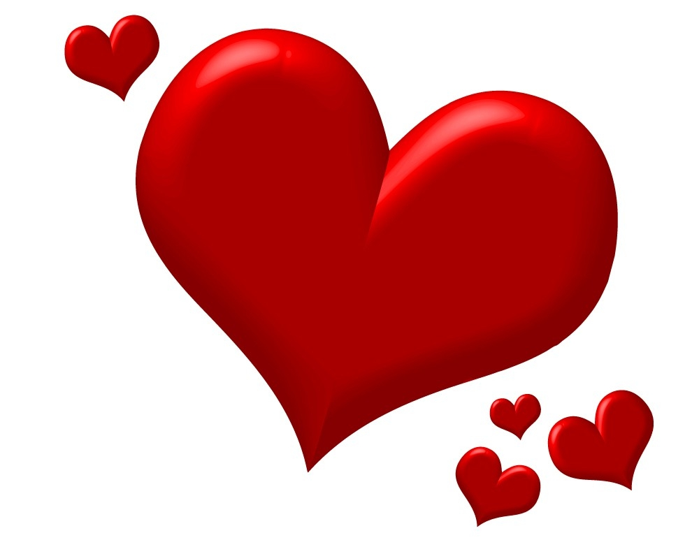 Red Heart Image Clipart Best