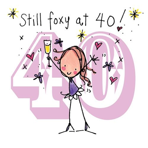 40th Birthday Wishes - ClipArt Best