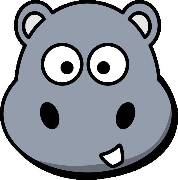free clip art hippo cartoon - photo #32