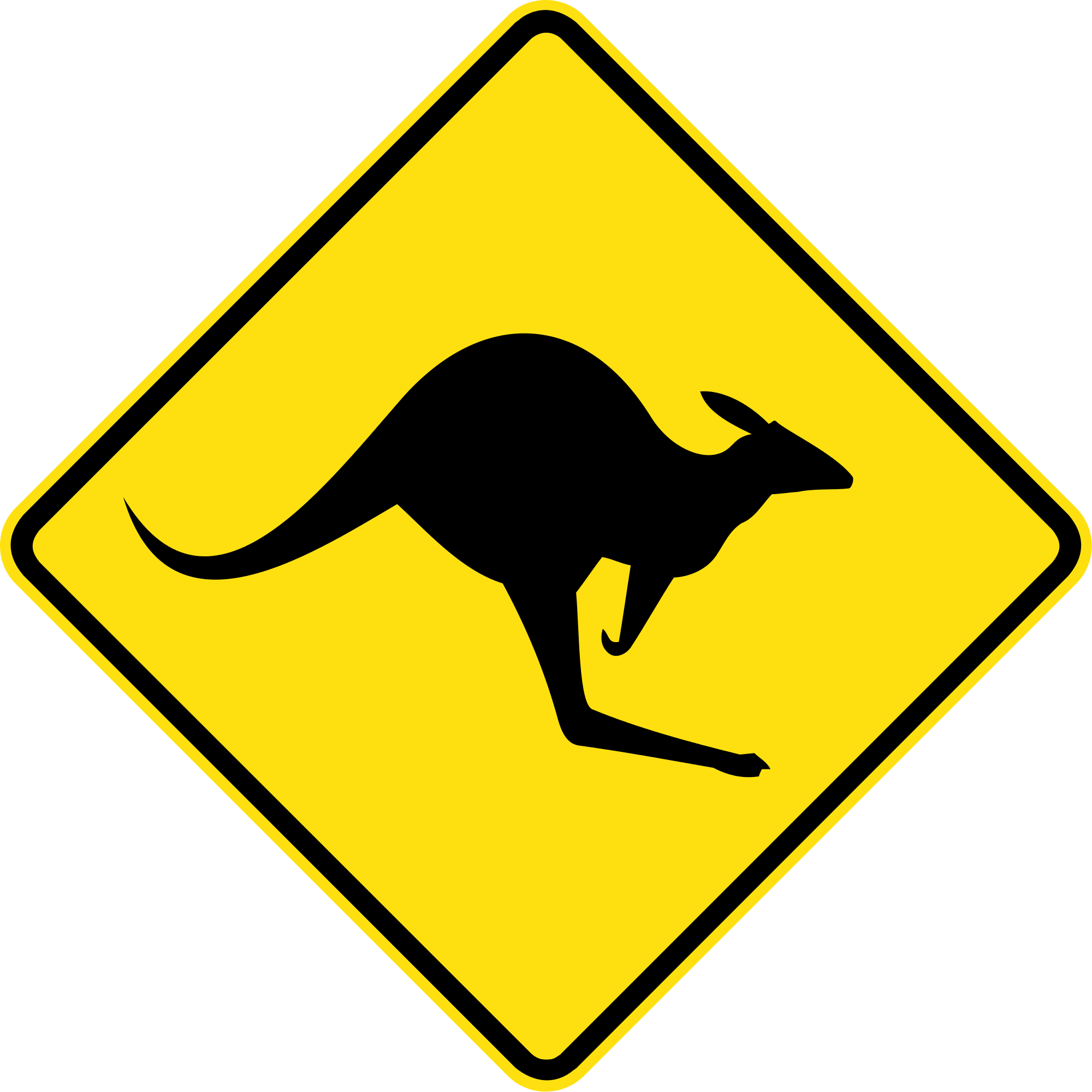 Typical And Unique Aussie Road Signs - ClipArt Best