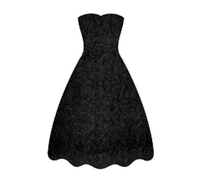 Art Prom Dresses - ClipArt Best