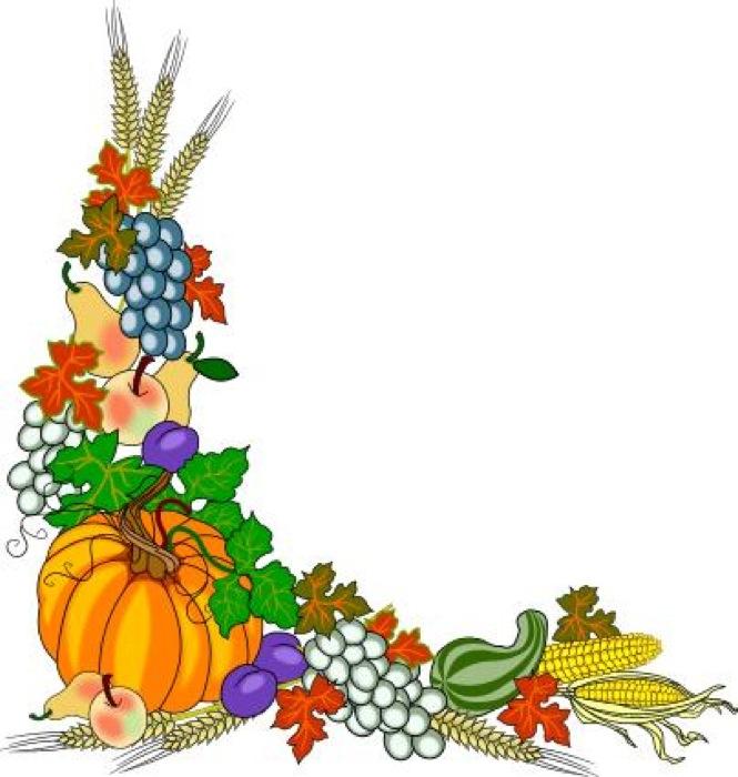 thanksgiving clip art frames - photo #48