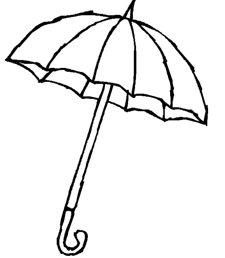 Raindrop coloring pages