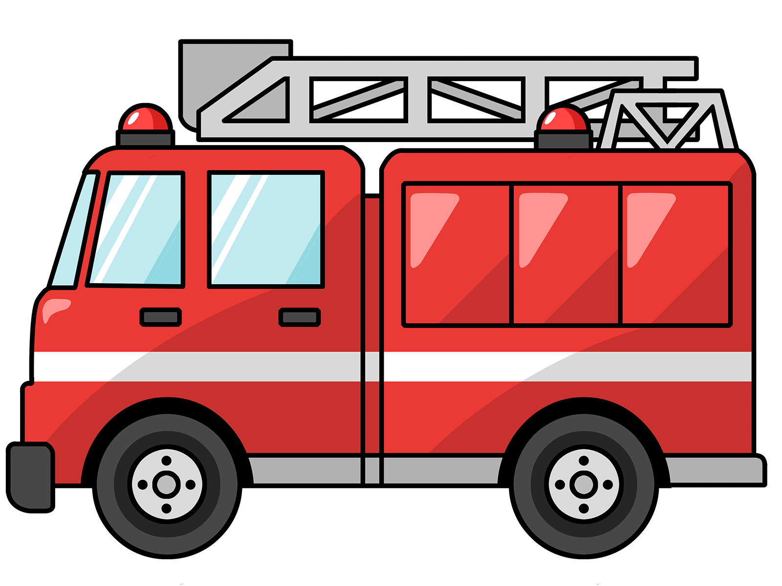 clip art of fire station - photo #6