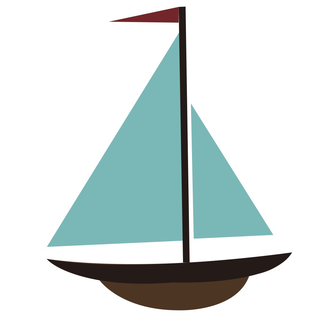 Simple Sailboat Drawing - ClipArt Best