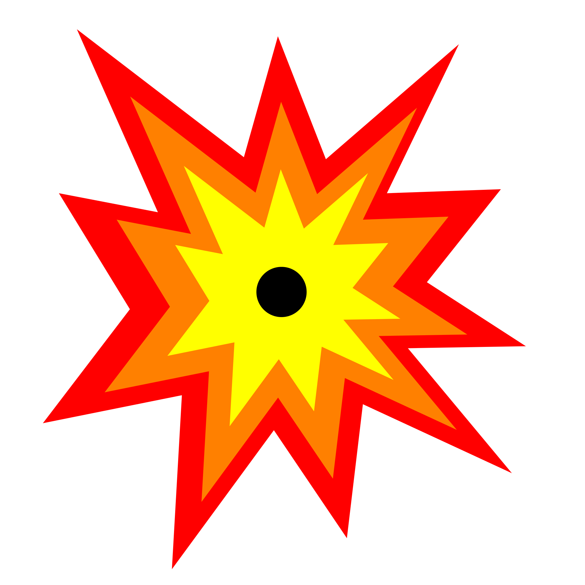 Explode Icon - ClipArt...