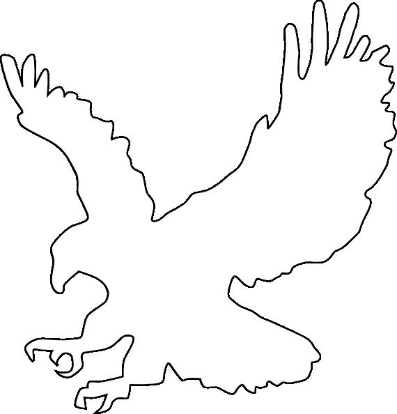 Eagles Logo Outline Eagles Outline