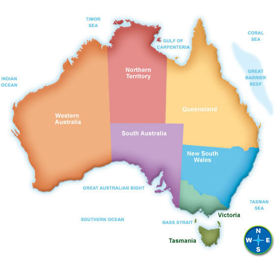 Australia Map Images ClipArt Best – Big Map of Australia