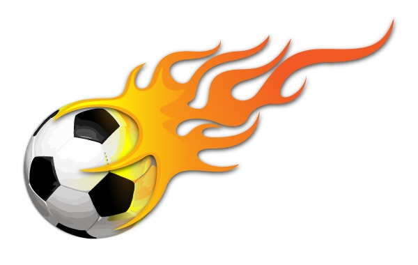 Pictures Of Soccer Balls On Fire - ClipArt Best