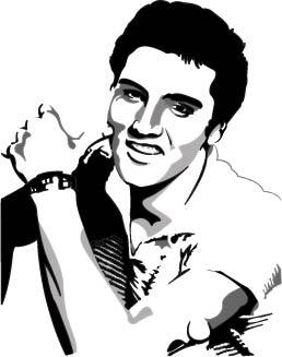 Elvis Presley S... Elvis Clipart Graphics Free