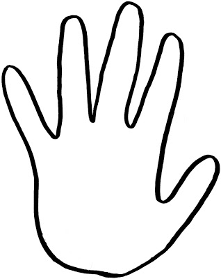 Critical image for printable handprints
