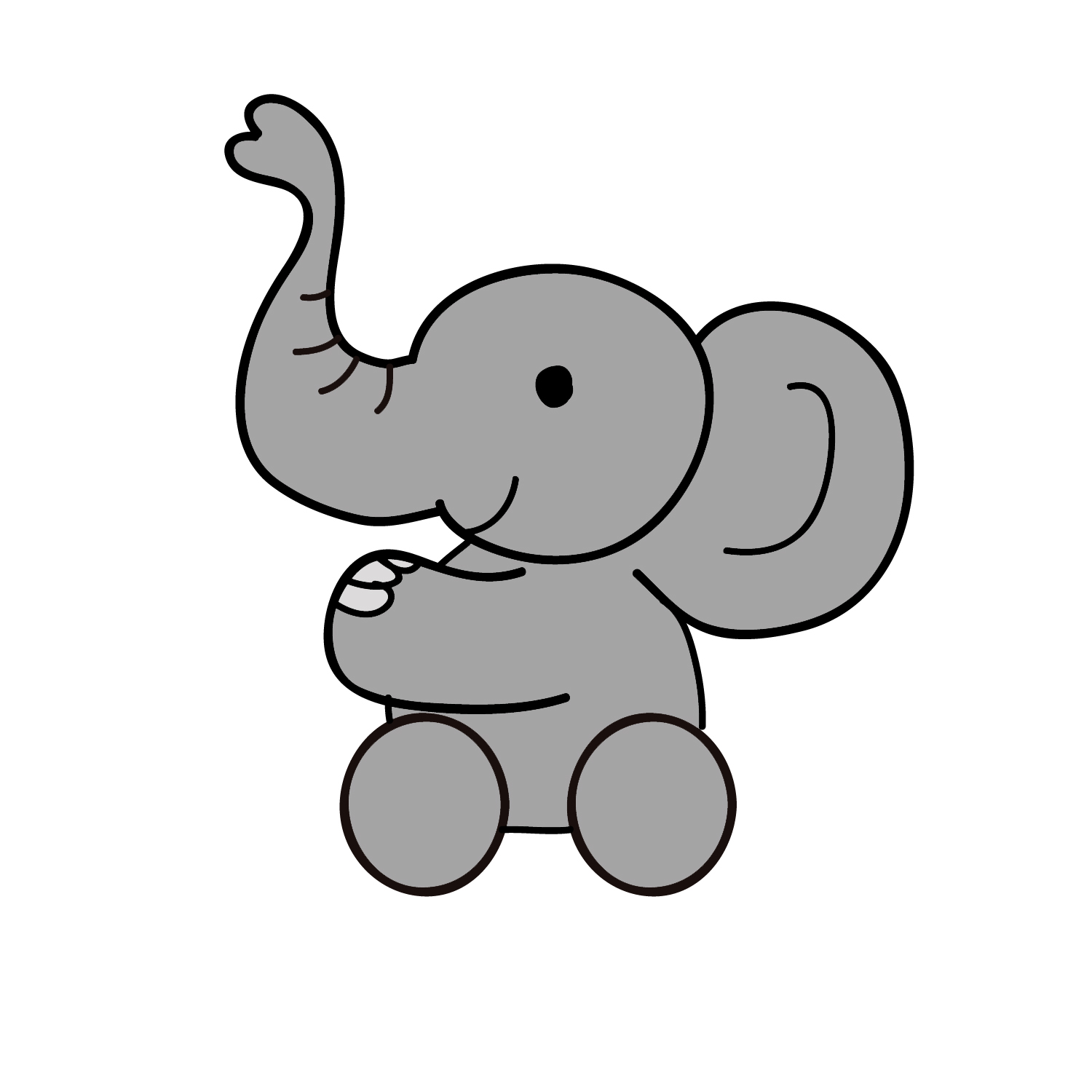 cartoon elephant wallpaper - photo #44