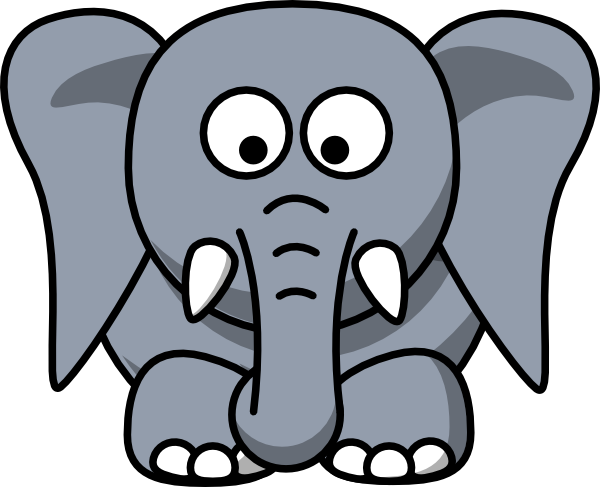 Big Elephant Clipart
