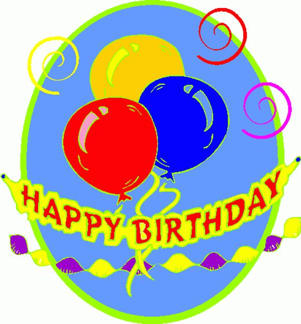 clipart for happy birthday - photo #43