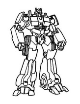 hasbro transformer coloring pages - photo#39