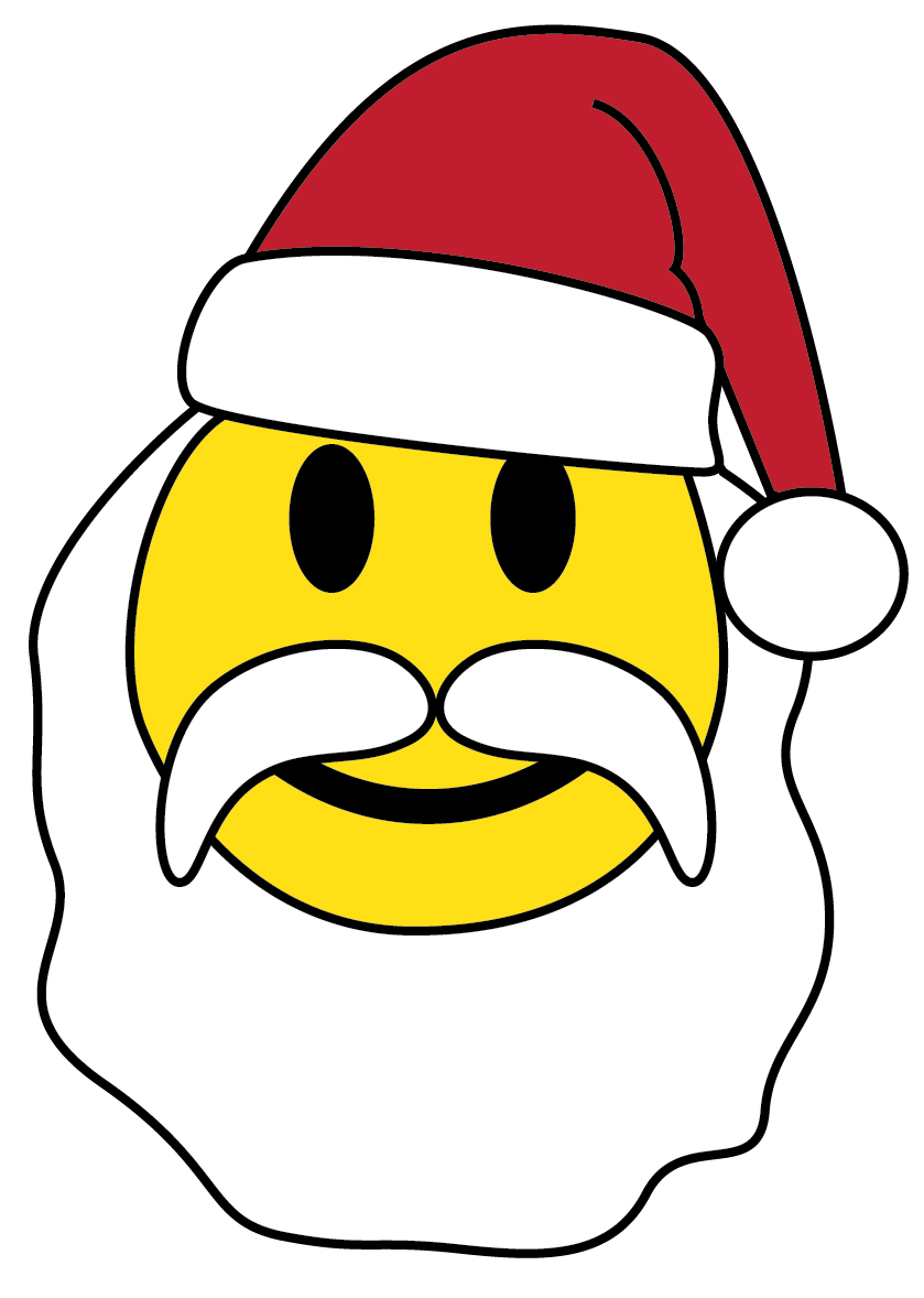 clip art christmas smiley face - photo #31