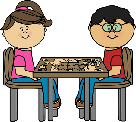 Kids Puzzle Clipart Best