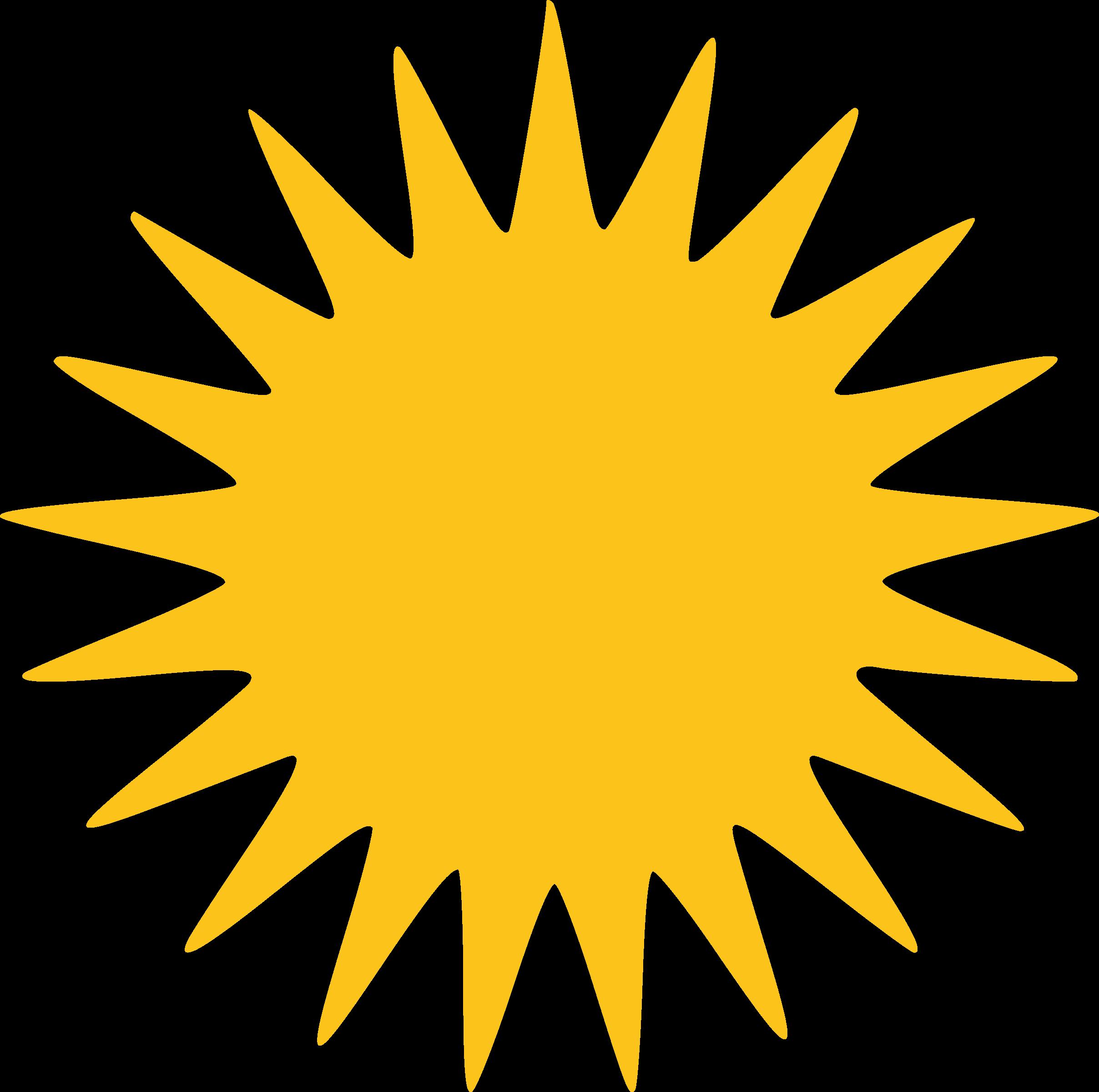 Clipart sun rays