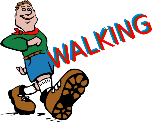 Pictures Of Feet Walking - ClipArt Best
