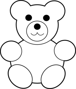 Best Photos of Bear Outline Printable - Teddy Bear Printables ...