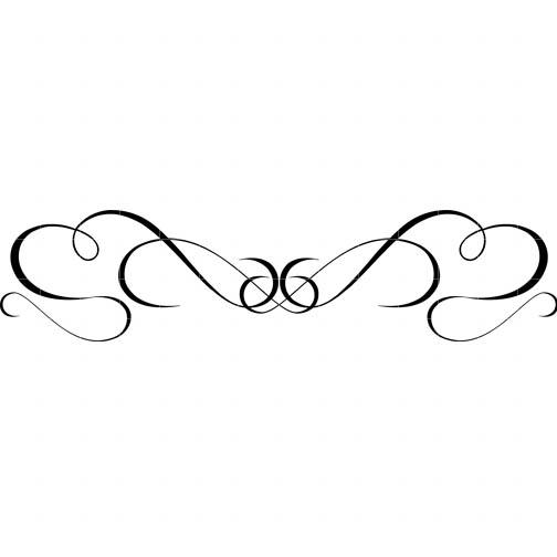 Simple swirl border